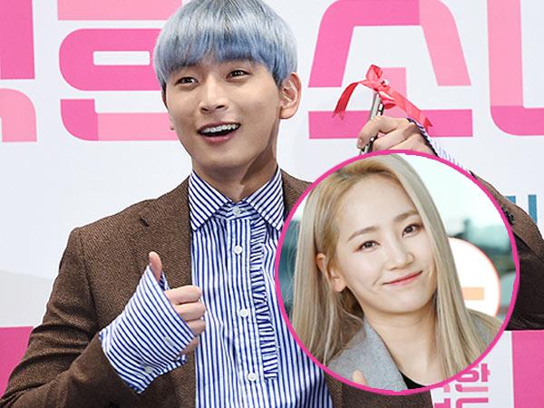 So Sweet, Jinwoon 2AM Pamer Hadiah Valentine dari Kekasihnya Ye Eun Eks Wonder Girls!