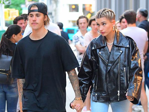 Terlihat Kenakan Cincin, Justin Bieber dan Hailey Baldwin Sudah Tunangan?