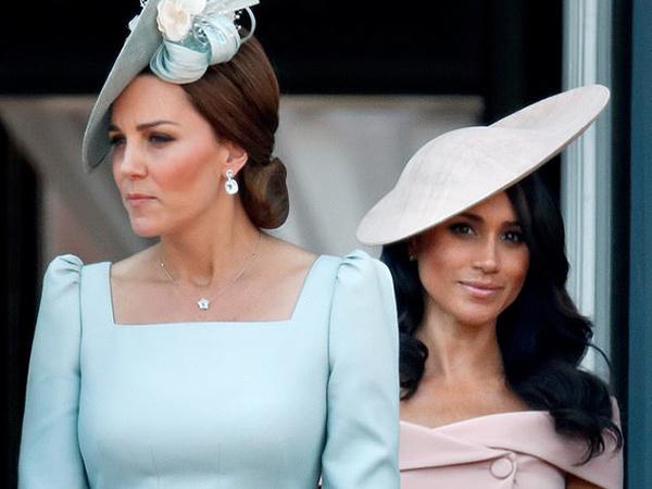Ini Beda Perlakuan Media Inggris terhadap Kate Middleton dan Meghan Markle