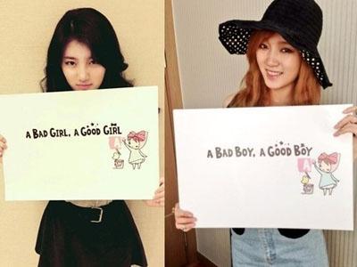 Suzy dan Jia Tulis 'Coming Soon' via Twitter, miss A Akan Comeback?