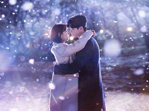 Lee Jong Suk dan Suzy Romantis di Poster Drama 'While You Were Sleeping'