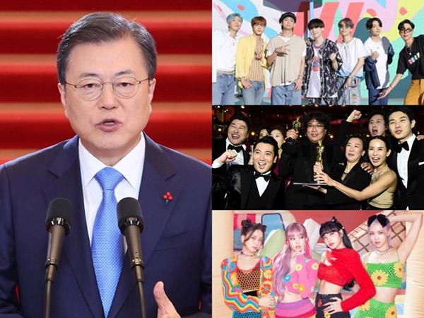 Isi Pidato Presiden Sebut BTS, BLACKPINK, Hingga Parasite Sumber Kebahagiaan Dunia