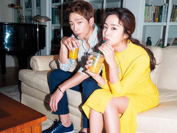 Agensi Angkat Bicara Soal Waktu Kelahiran dan Jenis Kelamin Anak Rain-Kim Tae Hee