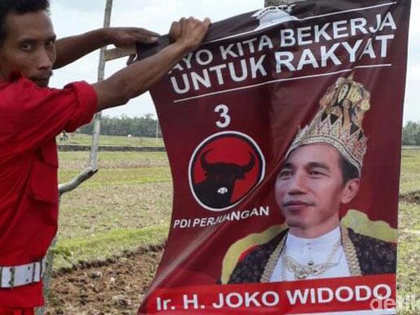Bocoran dari PDI-P Soal Siapa Pemasang Bendera 'Raja Jokowi' yang Jadi Viral
