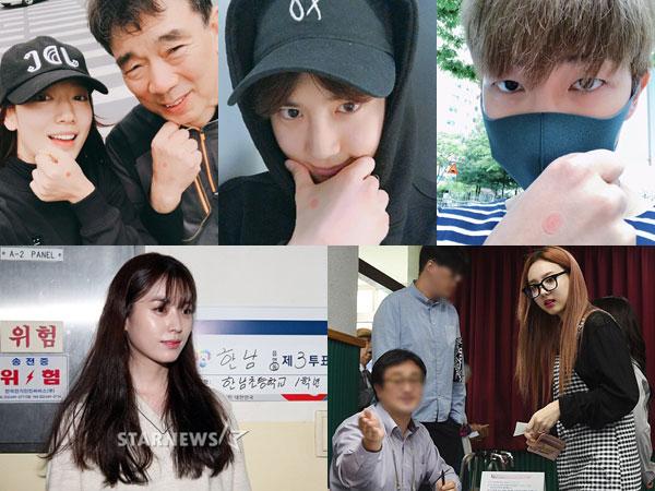 Para Selebriti Ini Berikan Hak Suara di Pemilihan Presiden Korea Selatan