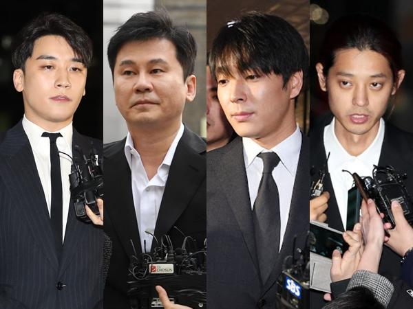 Seungri Hingga Jung Joon Young Didakwa Atas Deretan Kasus Ini