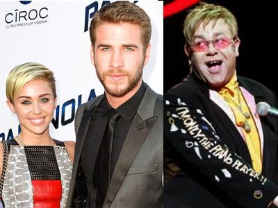 Putus Dari Miley Cyrus, Liam Hemsworth Ditaksir Elton John?