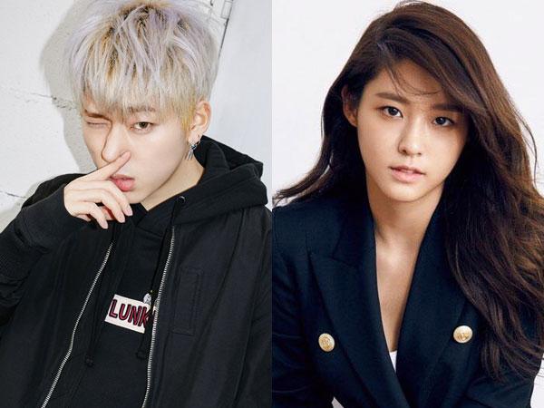 Bukti Ini Buat Netizen Menduga Zico Block B dan Seolhyun AOA Masih Pacaran?
