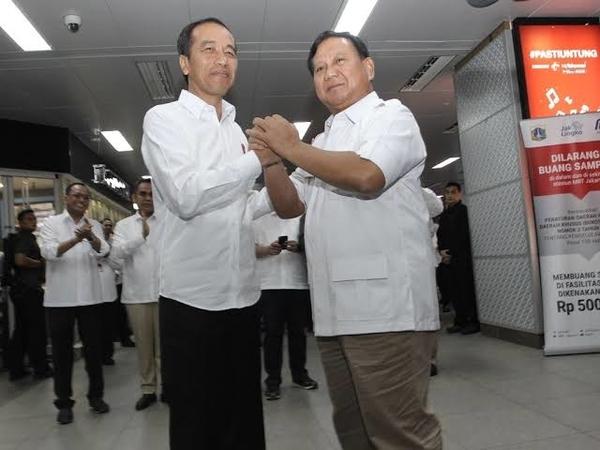 Berbekas dan Mesra, Gerindra Beri Sinyal Akan Ada Pertemuan Antara Jokowi-Prabowo Lagi?