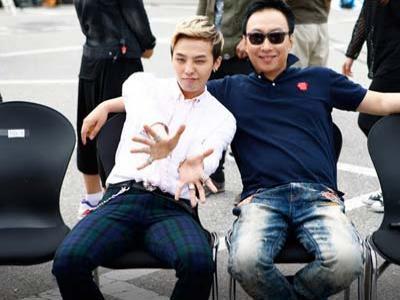 G-Dragon Bikin Marah Park Myung Soo