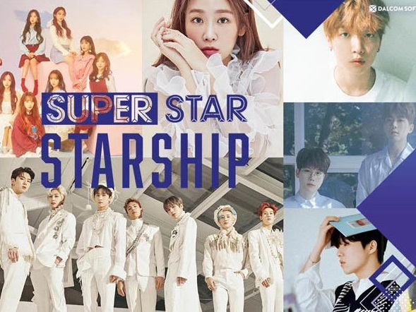 Starship Entertainment Resmi Rilis Game 'SuperStar Straship'