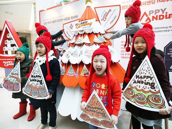 Tak Ada 'White Christmas', Anak-Anak Korea Selatan Bersemangat Sambut Pengungsi Suriah