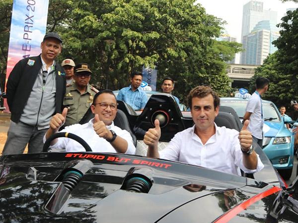 Buntut Corona, Anies Baswedan Tunda Perhelatan Formula E di Jakarta