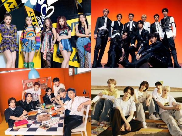 ITZY Debut di No. 1, Inilah Artis K-Pop yang Tempati Chart Billboard World Albums Minggu Ini