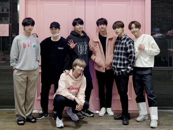 Ini Dia Barang-barang yang Diborong BTS di Pop-up Store, Siapa Paling Kalap?