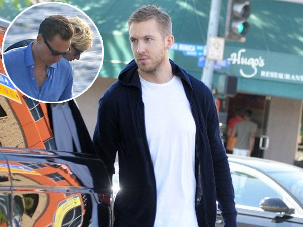 Taylor Swift Mesra dengan Tom Hiddleston, Ini Komentar Calvin Harris