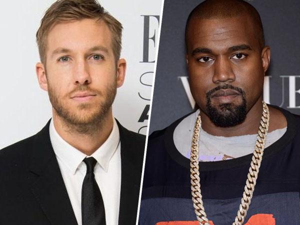 Mulai Dekat, Kanye West dan Calvin Harris Siap Berkolaborasi!
