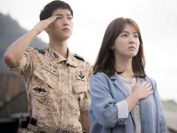 Dilirik Banyak Produsen Tiongkok, 'Descendants of the Sun' Bakal Dibuat Film?