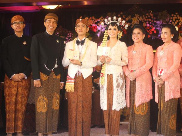 Lahir di Solo, Presiden Jokowi Dikaruniai Cucu Laki-laki Pertamanya