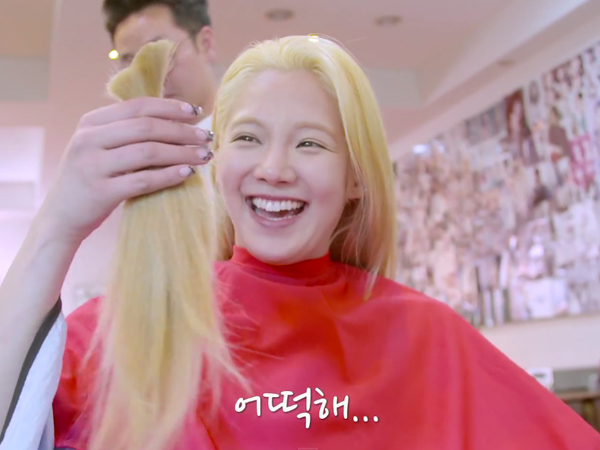 Hyoyeon Tunjukkan Rambut Indahnya Dipangkas dalam 'Hyoyeon's Million Likes'
