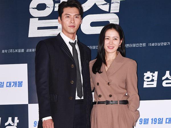 Sama-sama Sedang di AS, Agensi Kompak Bantah Rumor Pacaran Hyun Bin dan Son Ye Jin