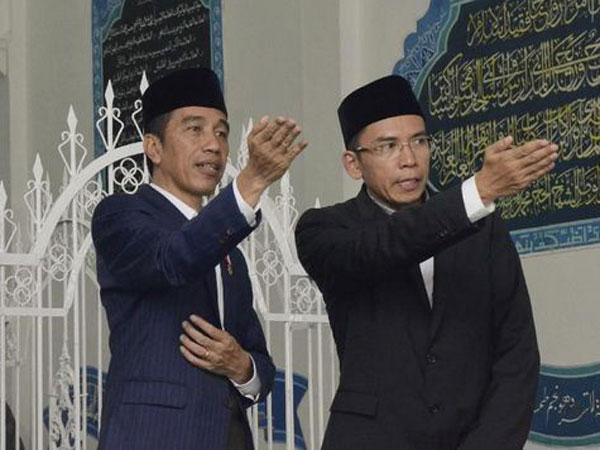 Inikah Kode Keras Presiden Jokowi Pilih Tuan Guru Bajang Jadi Calon Wapresnya Tahun Depan?