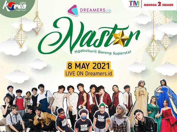 Mavin Z-Boys, StarBe, Hingga Tiffani Afifa Akan Meriahkan NASTAR 2021