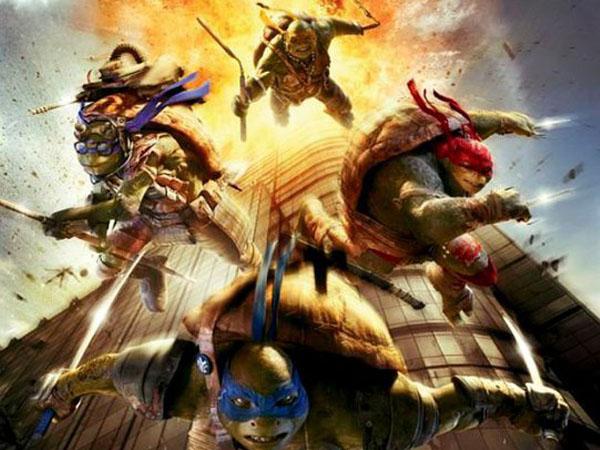 Mirip Tragedi 11 September, Poster 'Teenage Mutant Ninja Turtles' Dihapus?