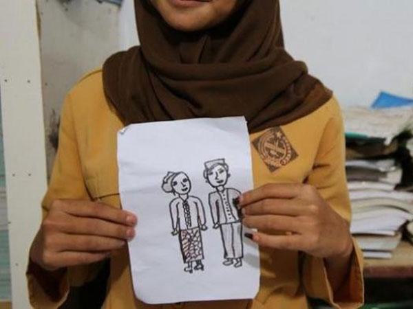 Usai Anak SMP, Heboh Pernikahan Siswa SD yang Dilangsungkan Meski Ditolak KUA Setempat
