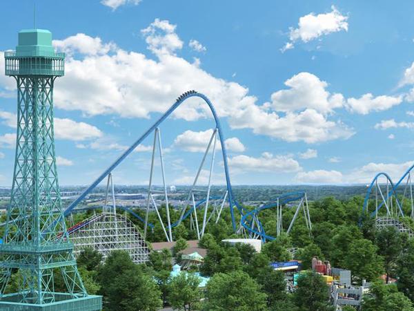 Yuk Kenalan Dengan Roller Coaster Setinggi 121 Meter di Amerika Serikat