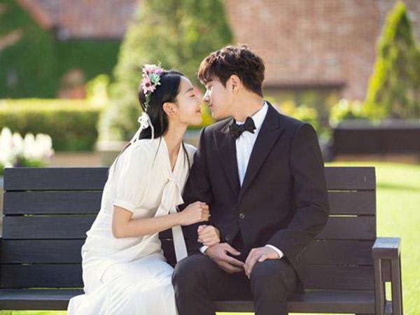 Potret Manis Shin Hye Sun dan L Infinite Jadi Pengantin Baru di 'Angel's Last Mission: Love'