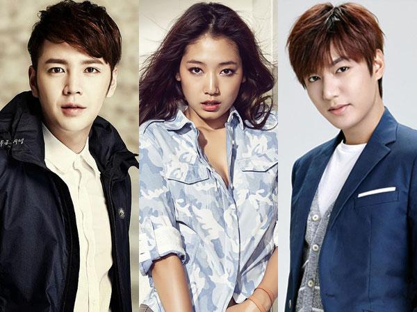 Jang Geun Suk vs Lee Min Ho, Siapa yang Paling Cocok Akting Bareng Park Shin Hye?