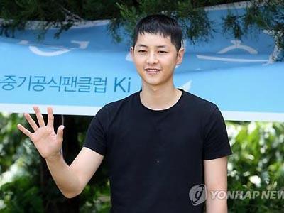 Song Joong Ki Resmi Masuk Wajib Militer