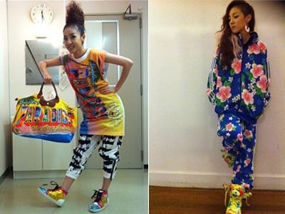 Intip Gaya Fashion Unik Dara '2NE1' Yuk!