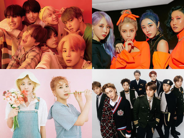Melon Music Awards 2019 Umumkan Pemenang Top 10 Artist