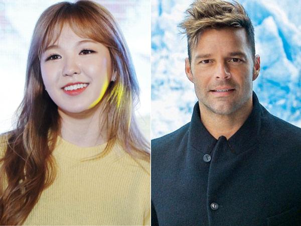 Siap Kolaborasi, Wendy Red Velvet Bakal Sumbang Suara di Lagu Ricky Martin!