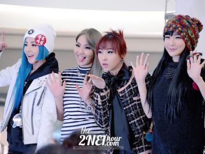 Member 2NE1 Buka-bukaan Soal Cinta, Pacaran, dan Nyatakan Perasaan