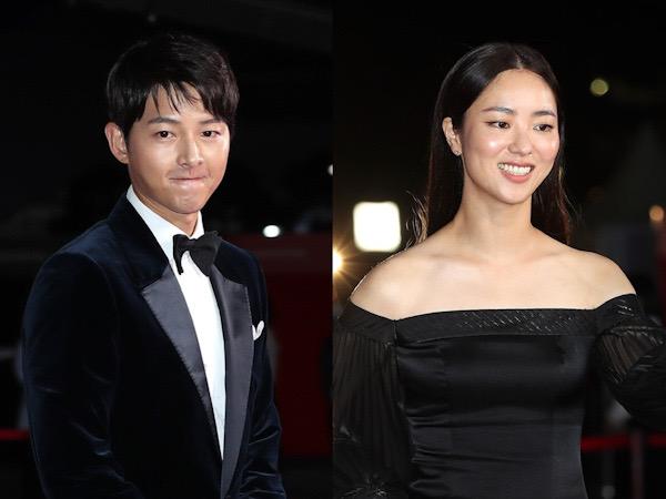 Momen Song Joong Ki Lirik Jeon Yeo Bin di Red Carpet BIFF Bikin Fans Heboh