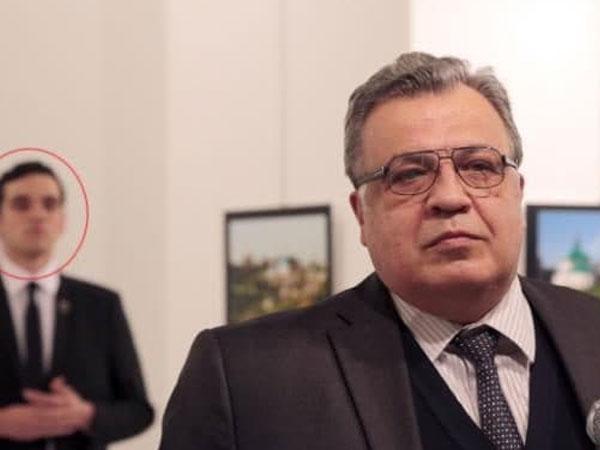 Begini Detik-detik Duta Besar Rusia Ditembak Mati Polisi Turki