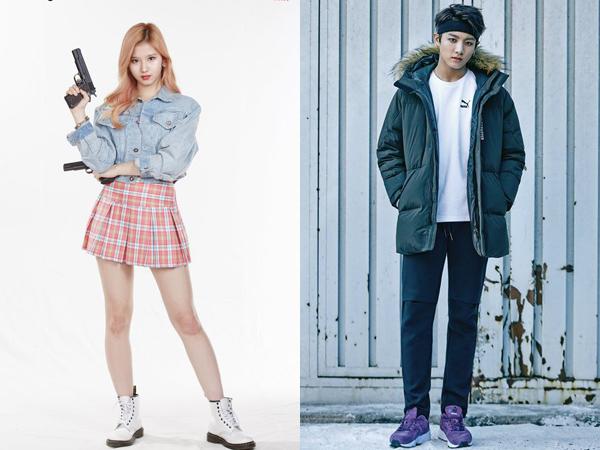 Promosi Bareng, Jungkook BTS dan Sana TWICE Digaet Jadi MC Spesial 'Music Core'