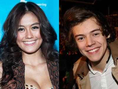Setelah Tom Cruise, Agnes Monica Juga di Follow oleh Harry Styles One Direction!
