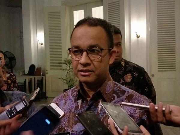 Kata Anies Baswedan Soal Pembuatan Lift 750 Juta di Rumah Dinas Gubernur