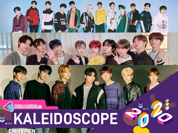10 Grup K-Pop Rookie Terlaris Tahun 2020
