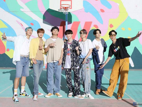 Ungkapan Haru Para Member BTS Capai No. 1 di Chart Billboard Hot 100