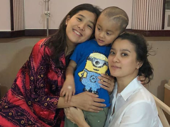 Anak Marcella Zalianty Dikabarkan Kembali Menjalani Operasi Tumor Otak