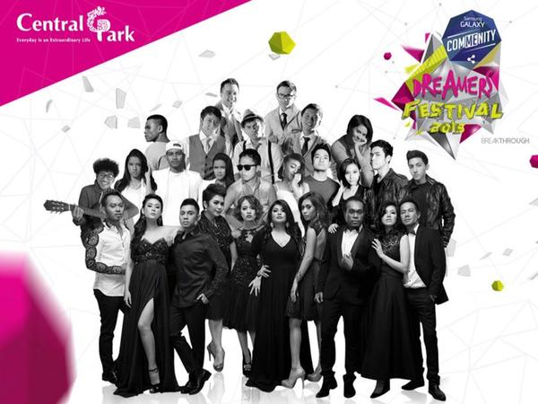 Yuk, Datang ke Festival Musik Terbesar Bertabur Hadiah Spektakuler, Dreamers Radio Festival 2015!