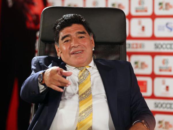 Diego Maradona akan Gantikan Sepp Blatter Jadi Presiden FIFA