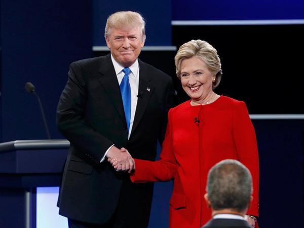 Hasil Sementara Pilpres Amerika Serikat, Hillary Clinton Unggul Tipis dari Donald Trump