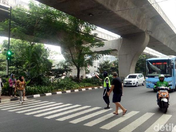 Wajib Tahu 'Pelican Crossing' yang Akan Segera Dibuat oleh Pemprov DKI Jakarta