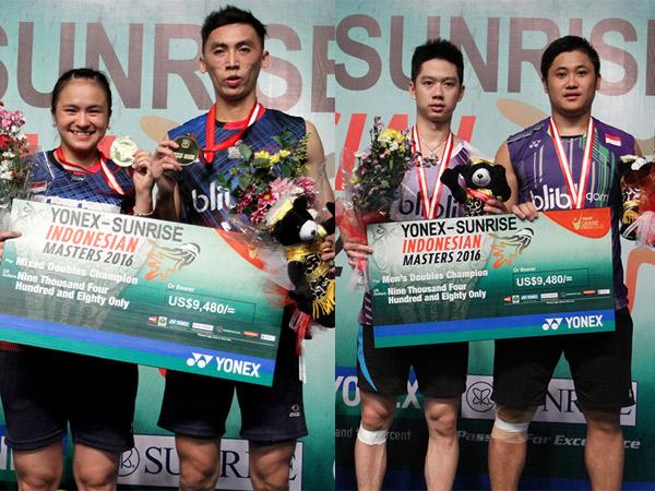 Jadi Juara Umum, Indonesia Rebut Dua Medali Emas di Indonesian Masters GPG!